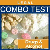 Alcohol and Drug Testing Services EtPa Alcohol plus 5-Panel Drug (ULTIMATE) - Legal Purposes