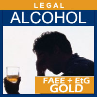 Alcohol and Drug Testing Services EtPa/EtG Hair Alcohol Test (GOLD) - Legal Purposes