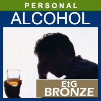 Alcohol and Drug Testing Services EtG Hair Alcohol Test (Bronze) - Personal Purposes