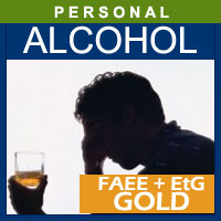 Alcohol and Drug Testing Services FAEE/EtG Hair Alcohol Test (GOLD) - Personal Purposes